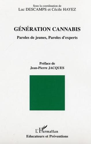 Couverture Génération cannabis