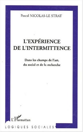 Couverture L'expérience de l'intermittence