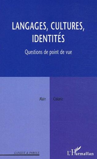 Couverture Langages, cultures, identités