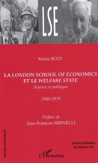 Couverture La London School of Economics et le Welfare State