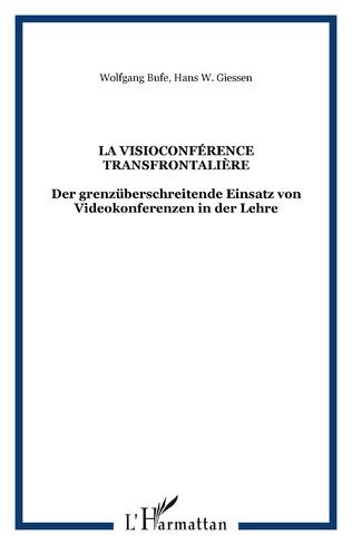 Couverture La visioconférence transfrontalière