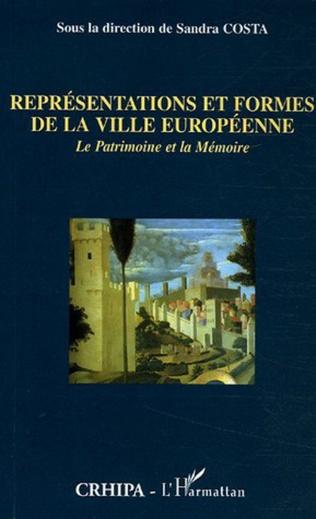 Couverture Représentations et formes de la ville européenne