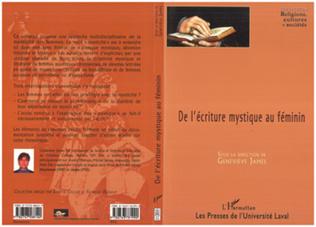 Couverture De l'écriture mystique au féminin