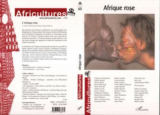Couverture Afrique rose