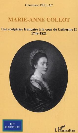 Couverture Marie-Anne Collot
