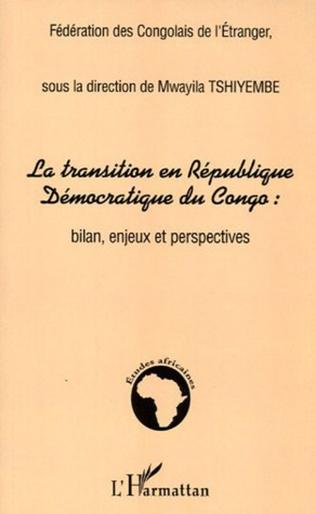 Couverture La transition en République Démocratique du Congo :