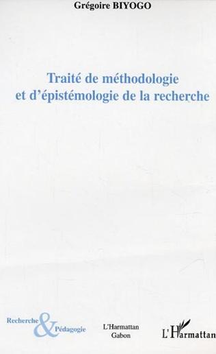 Couverture Traité de méthodologie et d'épistémologie de la recherche