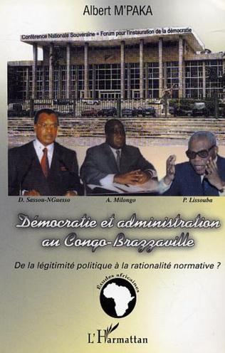 Couverture Démocratie et administration au Congo-Brazzaville