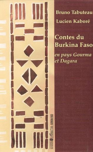 Couverture Contes du Burkina Faso en pays Gourma et Dagara