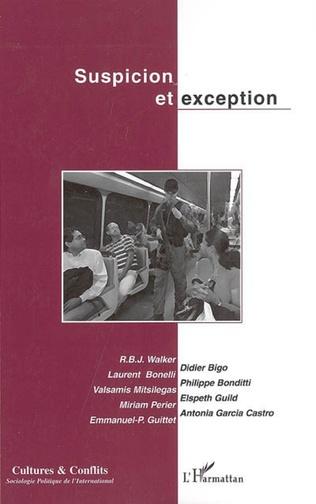 Couverture Suspicion et exception