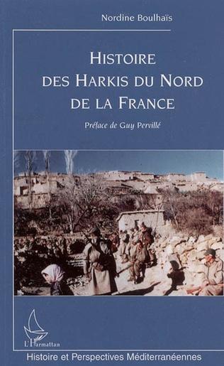 Couverture Histoire des Harkis du nord de la France