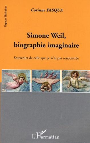 Couverture Simone Weil, biographie imaginaire