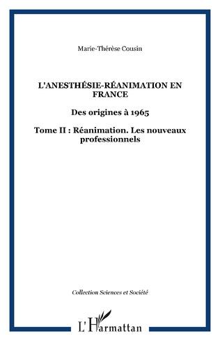 Couverture L'anesthésie-réanimation en France