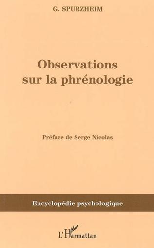 Couverture Observations sur la phrénologie