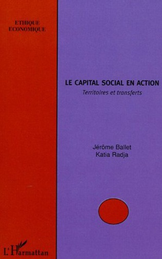 Couverture Le capital social en action