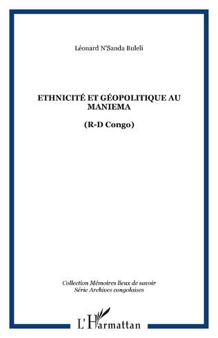 Couverture Ethnicité et géopolitique au Maniema