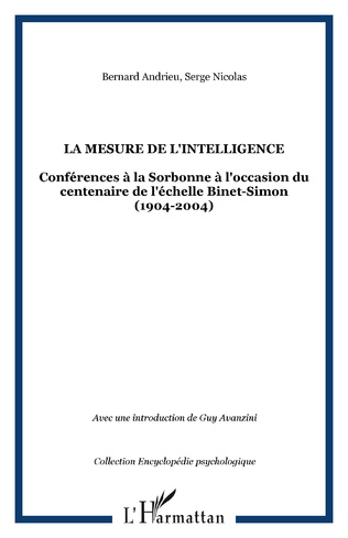Couverture La mesure de l'intelligence