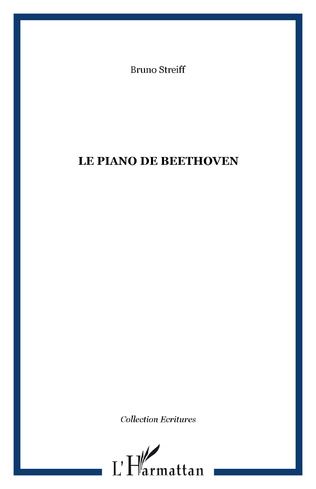 Couverture Le piano de Beethoven