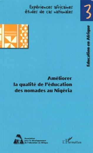 Couverture Améliorer la qualité de l'éducation des nomades au Nigéria