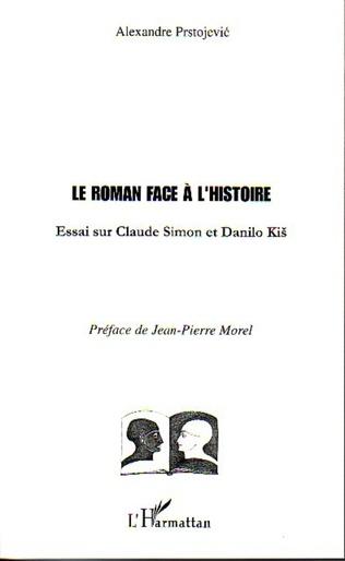 Couverture Le Roman face à l'Histoire