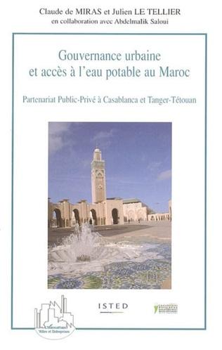 Couverture Gouvernance urbaine et accès à l'eau potable au Maroc