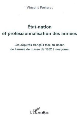 Couverture Etat-nation et professionnalisation des armées