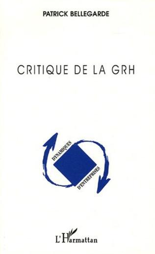Couverture Critique de la GRH (Gestion des Ressources Humaines)