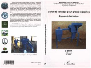 Couverture Canal de vannage pour grains et graines