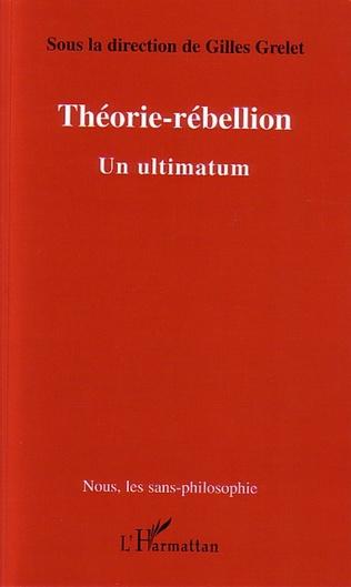 Couverture Théorie-rébellion