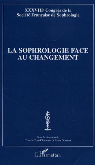 Couverture La sophrologie face au changement