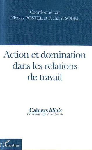 Couverture Action et domination dans les relations de travail