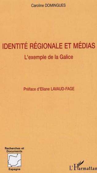 Couverture Identité régionale et médias