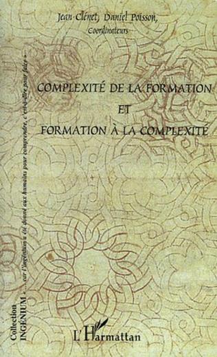 Couverture Complexité de la formation et formation à la complexité