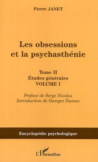 Couverture Les obsessions et la psychasthénie