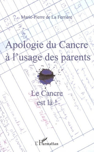 Couverture Apologie du Cancre à l'usage des parents
