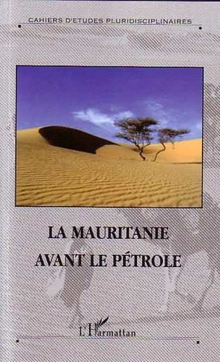 Couverture La Mauritanie avant le pétrole