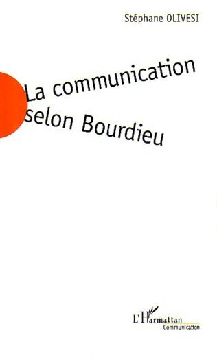 Couverture La communication selon Bourdieu