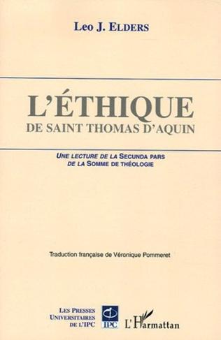 Couverture L'éthique de Saint Thomas d'Aquin
