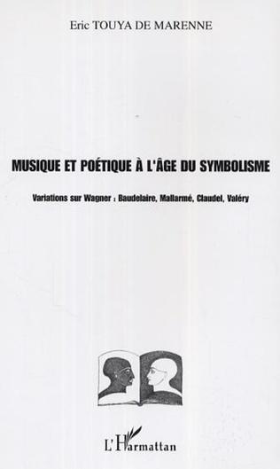 Couverture Musique et poétique à l'âge du symbolisme