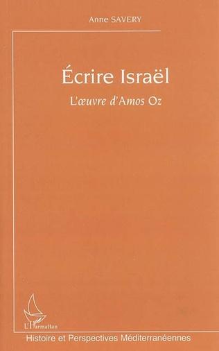 Couverture Ecrire Israël