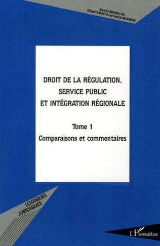 Couverture Droit de la régulation, service public et intégration région