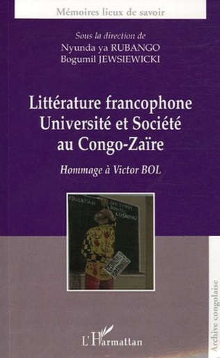 Couverture Littérature francophone