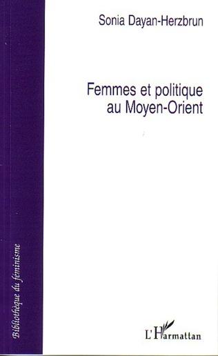 Couverture Femmes et politique au Moyen-Orient