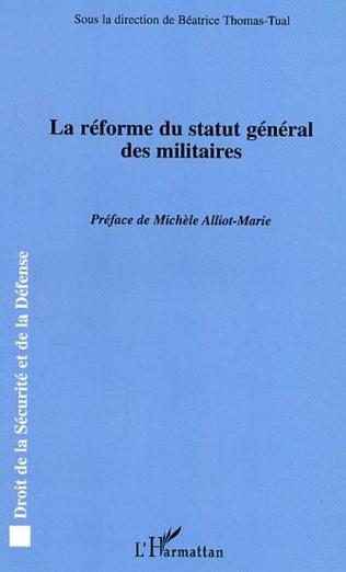 Couverture La réforme du statut général des militaires