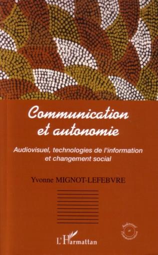 Couverture Communication et autonomie