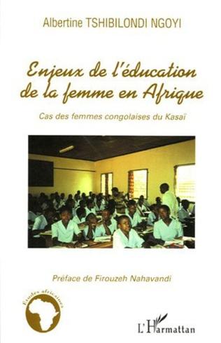 Couverture Enjeux de l'éducation de la femme en Afrique
