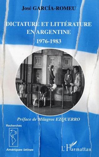 Couverture Dictature et littérature en Argentine