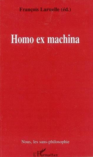 Couverture Homo ex machina