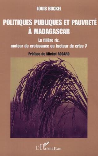 Couverture Politiques publiques et pauvreté à Madagascar