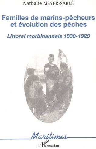 Couverture Familles de marins-pêcheurs et évolution des pêches